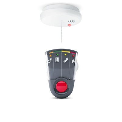 Bellman Visit Optical Smoke Detector and Portable Receiver