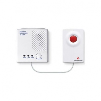 Bellman Visit Carbon Monoxide Detector Pack and Portable Flash Receiver