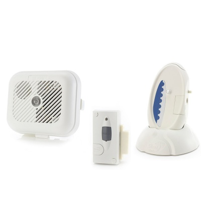 Care Call Smoke and Magnetic Door Alarm System with Signwave