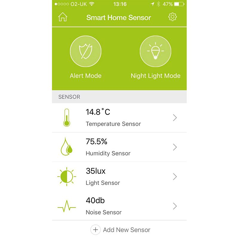 Carephone Home Monitoring System App
