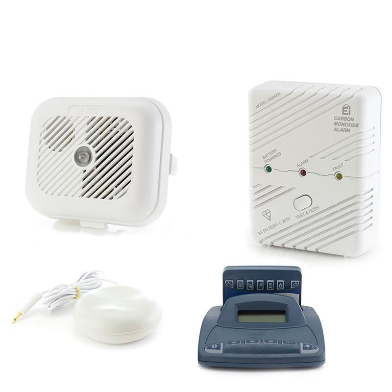 Silent Alert Sa3000 Hard Of Hearing Smoke And Carbon