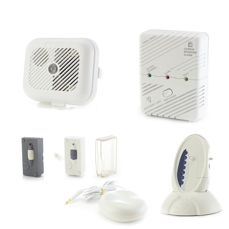 silent alert sa3000 signwave hard of hearing smoke carbon monoxide telephone and outdoor. Black Bedroom Furniture Sets. Home Design Ideas