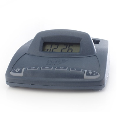 silent alert sa3000 hard of hearing pager alarm clock charger care alarms. Black Bedroom Furniture Sets. Home Design Ideas