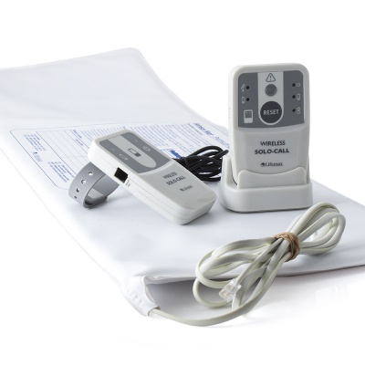 Care Solutions Wireless Care Alarm Kit with Large Bed Leaving Sensor Mat