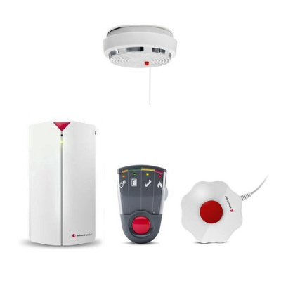 Bellman Bed Shaker, Baby Cry Transmitter, Optical Smoke Detector and Portable Flash Receiver