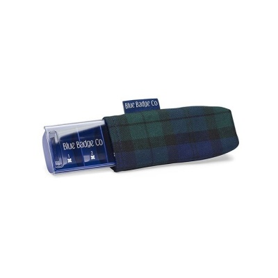 Blue Badge Company Everyday Pill Box and Blackwatch Tartan Carry Case