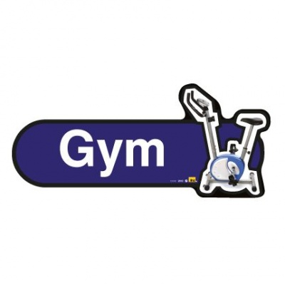 Find Signage Dementia Gym Sign