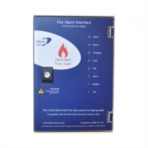 Silent Alert Fire Safe Deaf Paging System Interface Panel