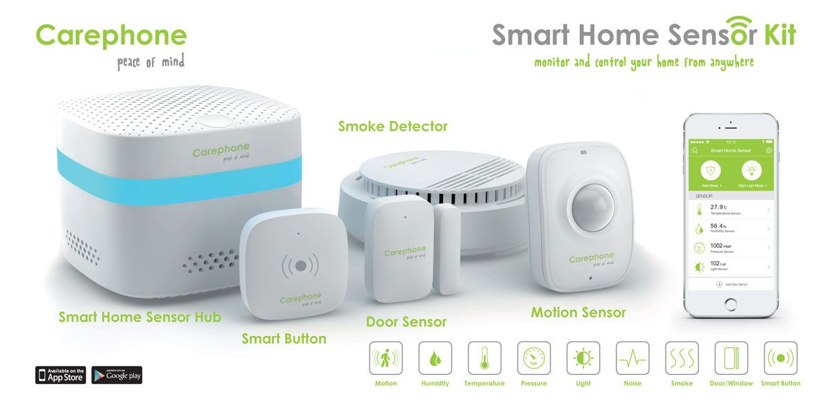Carephone Kit and Hub