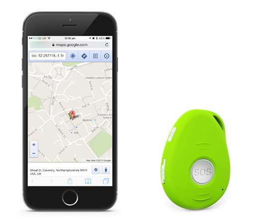 Carephone GPS SOS Tracker