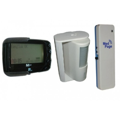 PIR Sensor with POCSAG Transmitter and Pager