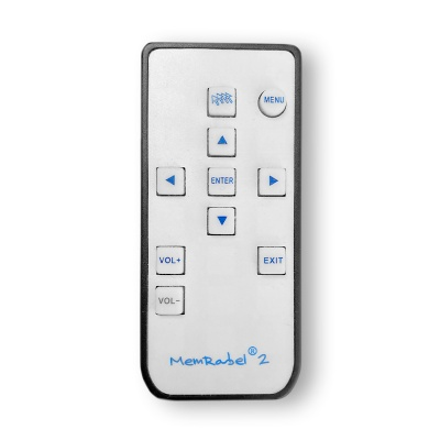 Remote Control for MemRabel 2 Audio/Visual Dementia Care Alarm