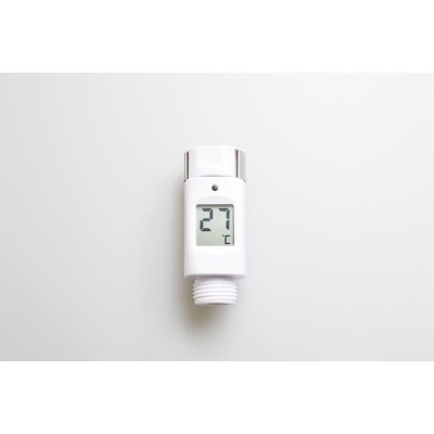 Waterproof Shower Thermometer with Temperature Alert