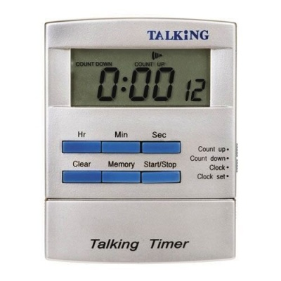 Pocket-Sized Talking Clock with Timer