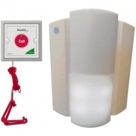 Rondish Wireless Disabled Toilet Alarm System with Pull Cord RONWC2