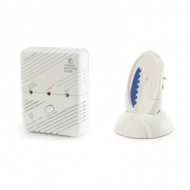 Care Call Carbon Monoxide Alarm System with Signwave