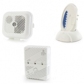 Care Call Smoke and Carbon Monoxide Alarm System with Signwave