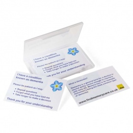 Dementia Patience Cards