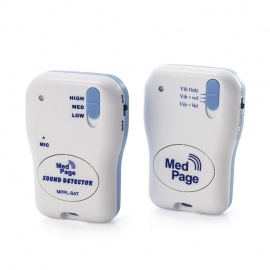 Medpage Sound Activated Transmitter with MPPL Pager
